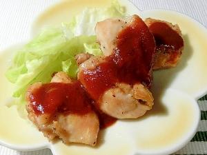グリルパンでパリッとジューシー!!鶏もも肉のソテー