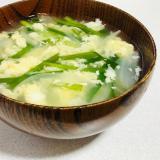 簡単☆にらたまスープ