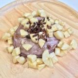 米粉のモチモチ紫芋パンケーキ