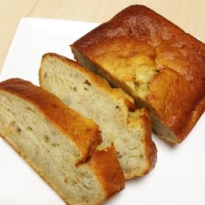 サラダ油で作るバナナパウンドケーキ