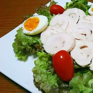 サラダにピッタリ。鶏ハム