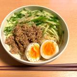 【382Kcal】野菜たっぷりジャージャー麺