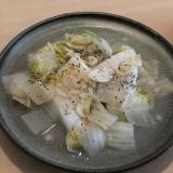 カレイと白菜の塩蒸し