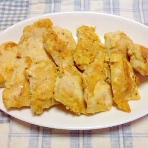 胸肉の簡単チーズピカタ(≧∇≦)