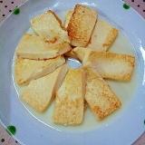 ✿ごま油で焼く簡単な❤豆腐ステーキ