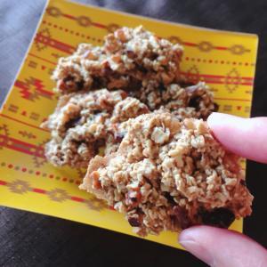 GF☆トースターで焼ける!しっとりオーツクッキー