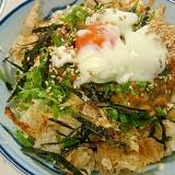 簡単、美味しい★豆腐納豆丼