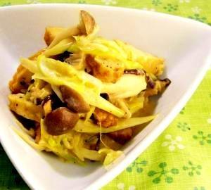 マヨで炒める簡単料理。