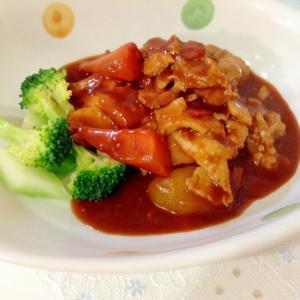 野菜たっぷり☆圧力鍋でやわらか鶏肉