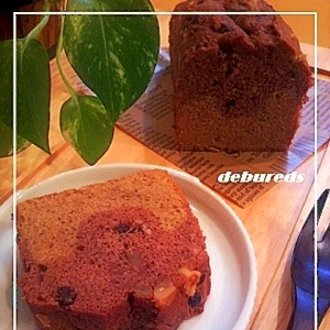 コーヒー&ココア*パウンドケーキ