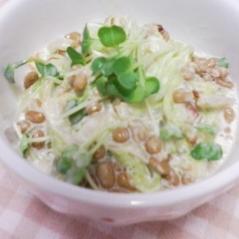 白菜と納豆のマヨ和え★