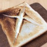 朝食に!チーズフォンデュトースト