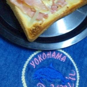 美味!生ハムとチーズの炙りトースト