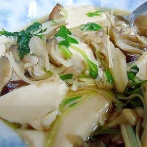 豆腐きのこ煮