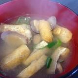 アサリと薄揚げの味噌汁