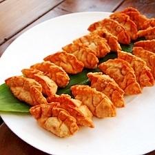 スイーツ餃子♪ごま団子風餃子