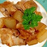 冬瓜と鶏もも肉の炒め物