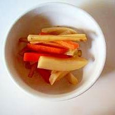 中華風、根菜サラダ