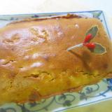 柚子皮の甘煮のパウンドケーキ