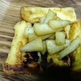 順番に焼くだけ!りんごバターソテーフレンチトースト