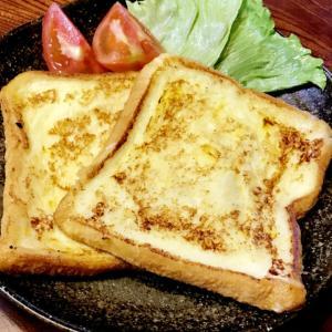 朝食フレンチトースト