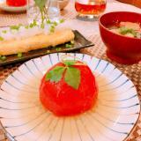 旨味たっぷり♪トマトの肉詰め♡和風餡掛け
