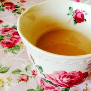 香ばしい♪はったい粉❤︎ほうじ茶ラテ
