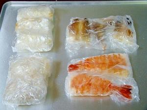 上手に冷凍保存でいつでも握り寿司♡