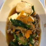 牛肉の肉豆腐
