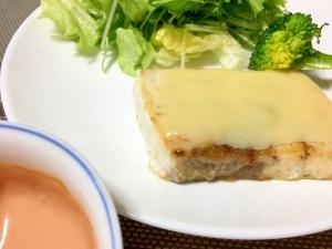 簡単美味しい!メカジキのチーズムニエル