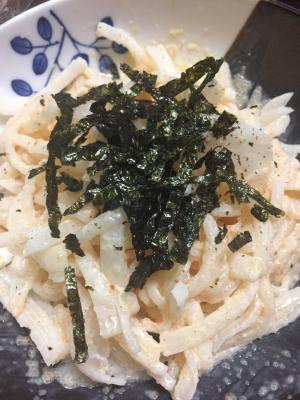 大根の明太子サラダ