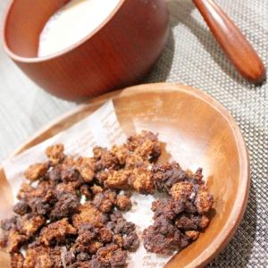 糖質制限チョコレート活用★チョコブランフレーク♪