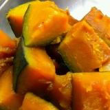 炊飯器で簡単、かぼちゃの煮物