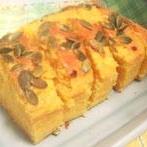ハロウィンにどうぞ!かぼちゃのパウンドケーキ