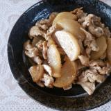 豚肉と大根の炒め煮★