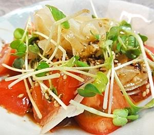 トマトのピリ辛サラダ