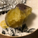 ねっとり。魚焼きグリルで焼き芋