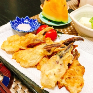 サクサク♪トリ貝の天ぷら