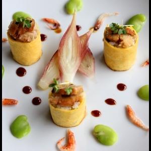 卵ロール寿司