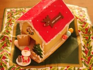 ヘクセンハウス(赤い屋根)☆クリスマスのお菓子の家