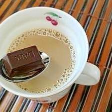 ビターなチョコで♪ 大人のコーヒー