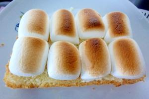 ☆クリームチーズのマシュマロトースト☆