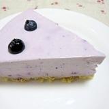 ♪ブルーベリーレアチーズケーキ♪
