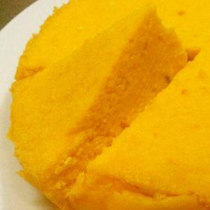 簡単/混ぜるだけで濃厚カボチャのチーズケーキ
