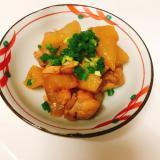 炊飯器シリーズ!!照りがすごい大根と鶏肉の煮物