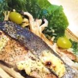 オーブントースターで 《秋鮭のマヨ焼き》