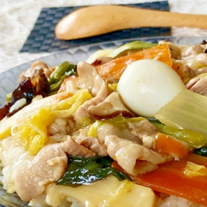 簡単だけど本格的♫お野菜たっぷり♫中華丼