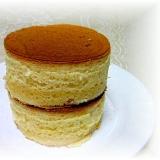 自家製ホットケーキミックスde極厚パンケーキ