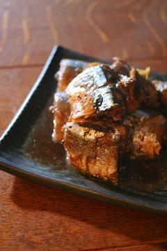 今夜は秋刀魚の生姜煮を・・・