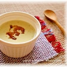 ナスの冷製スープ